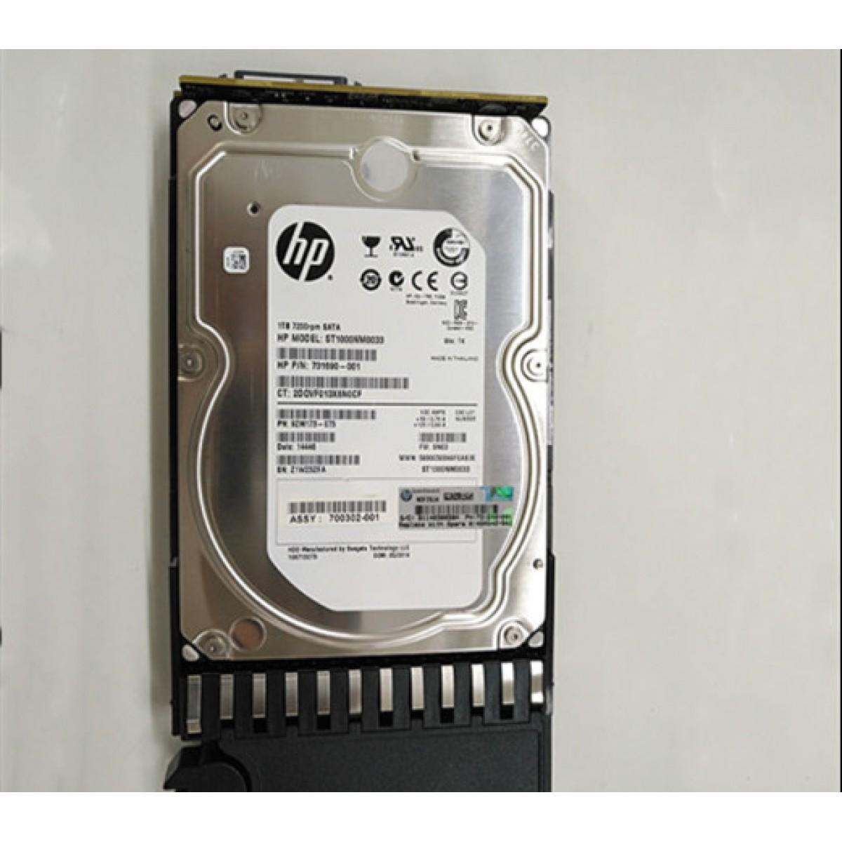 """480942-001 HP 1TB 7.2K SATA 3.0Gb/s 3.5\\\"""" Internal HDD"""